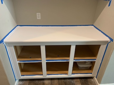 How to Chalk Paint Cabinets